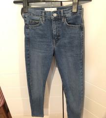 TOPSHOP jamie jeans (pt uključena u cijenu)