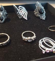 Lot prsteni (7 kom - 30 kn)