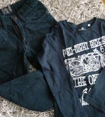 Lot hlače i majica vel. 110