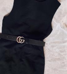 MANGO obična crna uska haljina - novo