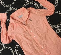 US polo roza košulja