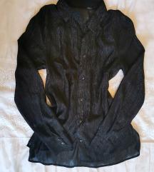 Crna prozirna košuljica