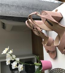 Stradivarius roze/nude sandale