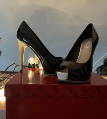 Guess peep toe cipele platforme - novo