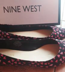 Nine west balerinke s rozim srcima❤