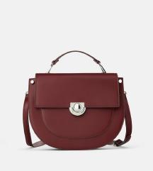 Zara nova burgundy torba