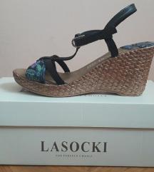 Lasocki sandale prava koža - pt uključena