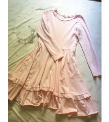 🌸 Roza haljina - M/L