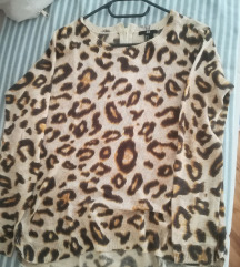 Majica dugih rukava leopard uzorka