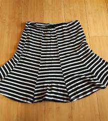 Prugasta suknja