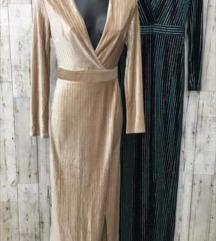 Nova bež haljina sa sjajnim nitima