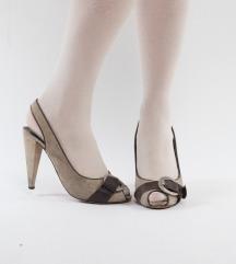 Kožne sandale s kopčom