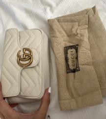 REZ!Gucci Marmont torbica cream prljavo bijela