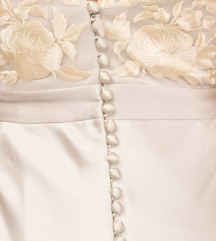 CATHERINE DEANE vjenčanica srebrne boje