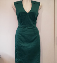 H&M petrolejzelena haljina