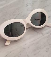 Vintage bijele sunčane naočale