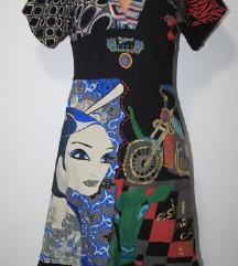 DANAS 220 KN! DESIGUAL haljina S (36/38)