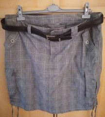 Siva suknja - poštarina u cijeni