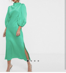 ASOS zelena haljina