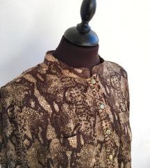 H&M zmija print košulja / bluza