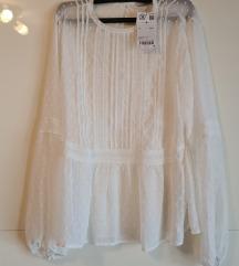 Nova lagana bijela bluza vel. 38