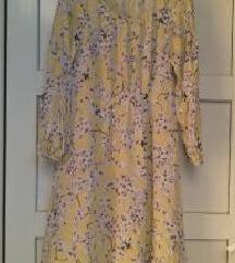 %%%H&M preslatka retro cvijetna haljina