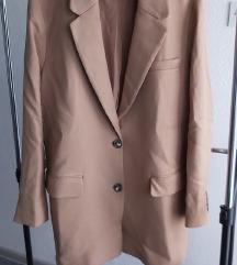 Nenošen H&M oversized sako/kaput