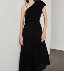 BCBG MAX AZRIA nova crna haljina XS