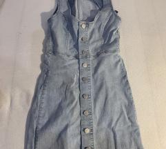 Ljetna traper haljina S