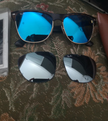 Rayban clubmanster oversized