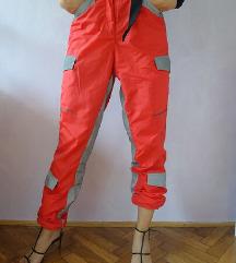 IamGia crvene traksuit hlače