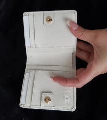 Novi original bijeli Furla novcanik