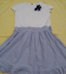 Benetton haljina vl.6-8