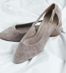 Paul Green cipele od puder roze brušene kože