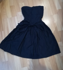Tamnoplava haljina