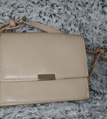 Zara krem torbica