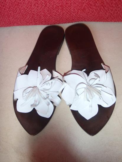 Sandale bijeli cvijet