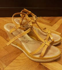 PRATIVERDI sandale, talijanska koža!