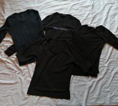 Lot crnih majica