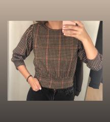 C&A Karirana majica s puf rukavima(pt uklj)