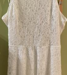 Bijela haljina na vezanje na ledima NOVO!!