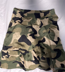Vojnicka satenska suknja M/L