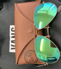 Ray Ban Aviator Green Mirror
