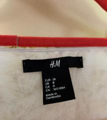 Hm mini cvjetna haljina
