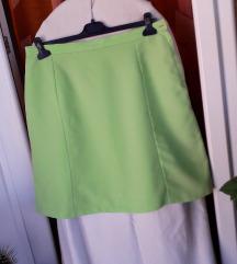 BY Almensita neon zeleni sako i suknja L