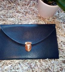 Tamno plava pismo torbica