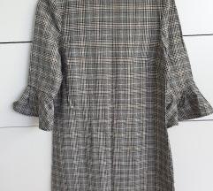 Karirana haljina tunika