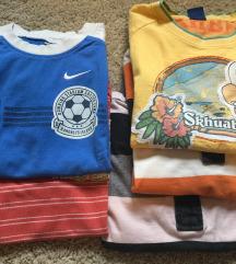 Lot majica dječjih 116