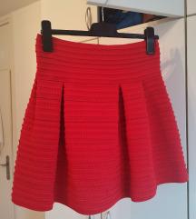 Crvena kratka balon suknja 👠♥️♥️