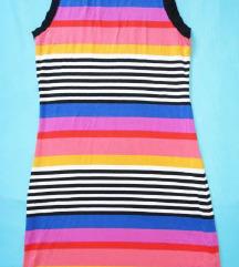 Nova prugasta pamučna haljina H&M